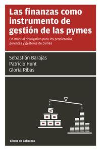 LAS FINANZAS COMO INSTRUMENTO DE GESTIóN DE LAS PYMES: portada