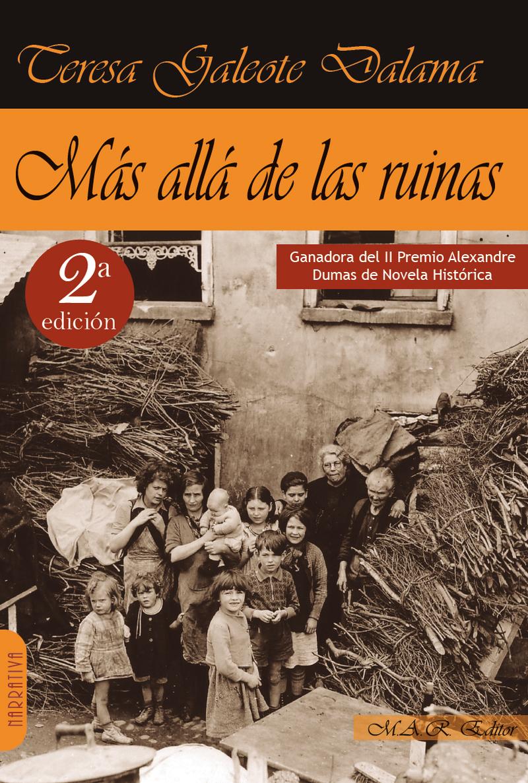 MAS ALLA DE LAS RUINAS: portada