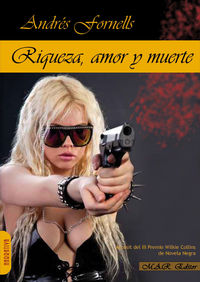RIQUEZA, AMOR Y MUERTE.: portada