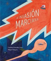 La invasión marciana: portada