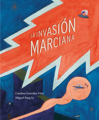 La invasi�n marciana: portada