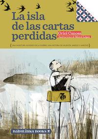LA ISLA DE LAS CARTAS PERDIDAS: portada
