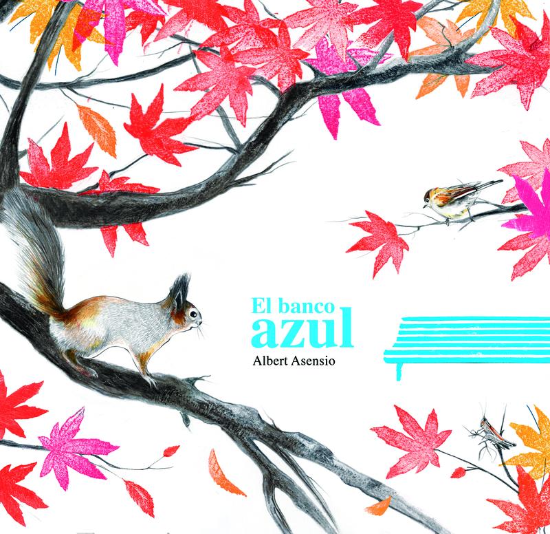 EL BANCO AZUL: portada