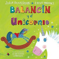 Balancín y el unicornio: portada