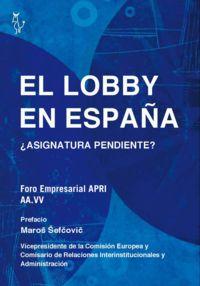EL LOBBY EN ESPAÑA: portada