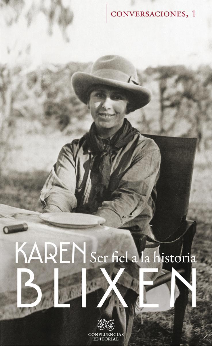Conversaciones con Karen Blixen: portada