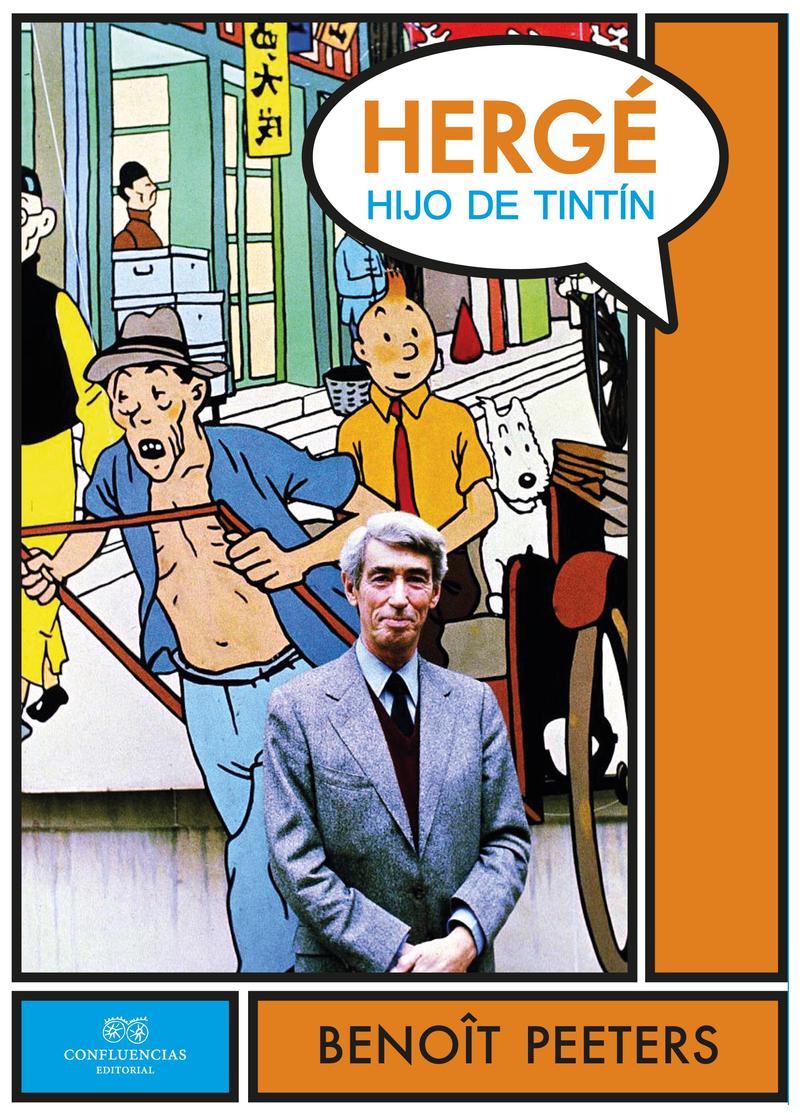 Hergé, hijo de Tintín: portada