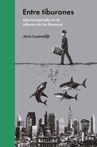 Entre tiburones: portada