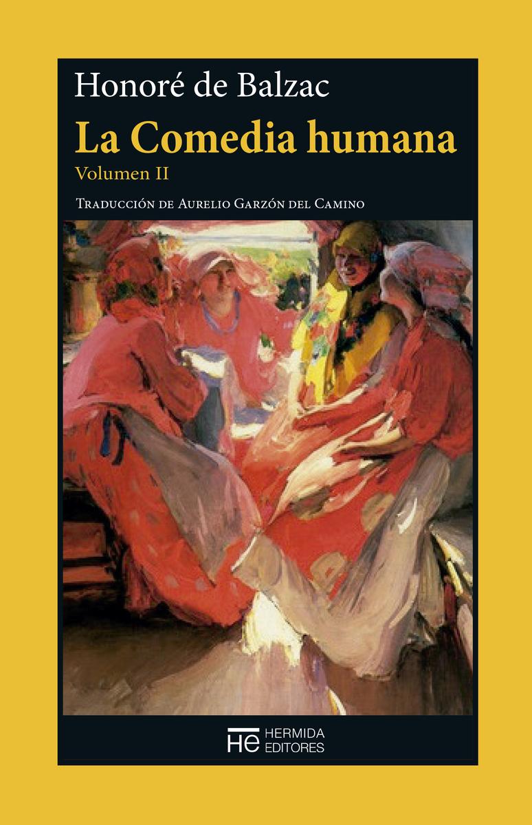 La Comedia humana. Volumen II: portada