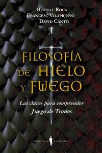 FILOSOFIA DE HIELO Y FUEGO: portada