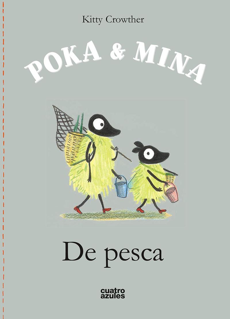 POKA & MINA: DE PESCA: portada