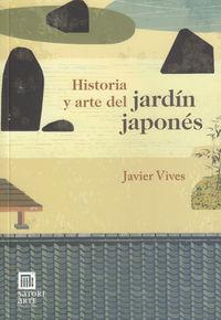 HISTORIA Y ARTE DEL JARDIN JAPONES: portada