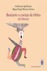 Bestiario o cortejo de Orfeo: portada