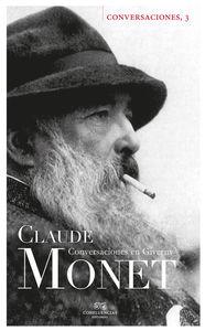 Conversaciones con Claude Monet: portada