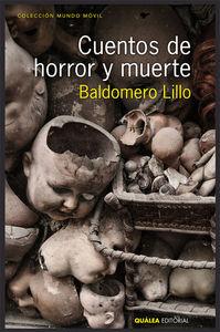 CUENTOS DE HORROR Y MUERTE: portada
