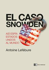 El caso Snowden: portada