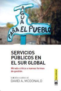 Servicios públicos en el Sur Global: portada