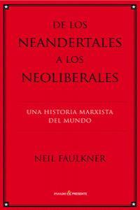 De los neandertales a los neoliberales.: portada