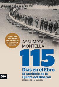 115 DÍAS EN EL EBRO: portada