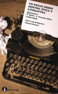 Un exilio desde dentro: Ética y Literatura: portada