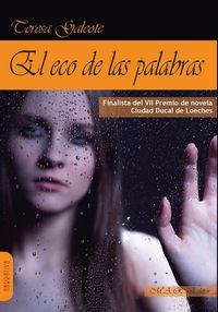 EL ECO DE LAS PALABRAS: portada
