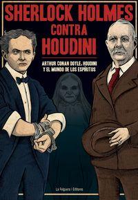 SHERLOCK HOLMES CONTRA HOUDINI: portada