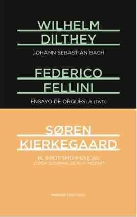 EL EROTISMO MUSICAL. ENSAYO DE ORQUESTA (DVD). J. S. BACH: portada