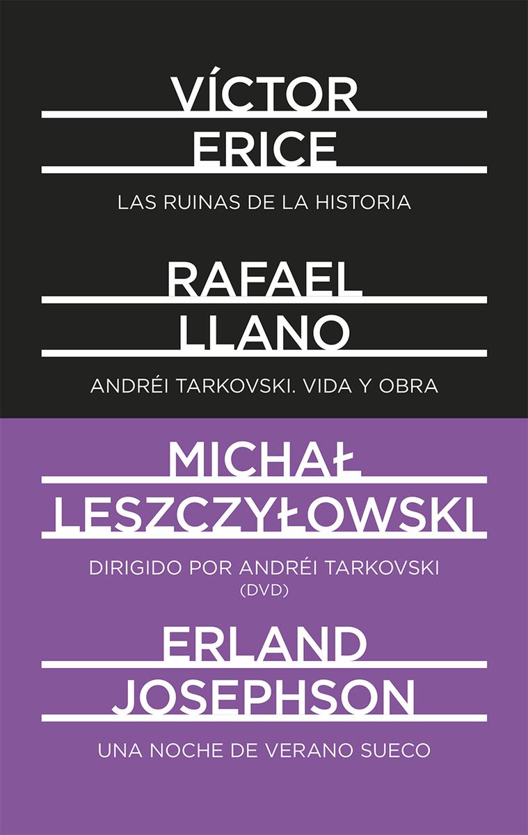 Andrei Tarkovski. Dirigido por Tarkovski (DVD). Una noche de: portada
