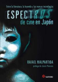 ESPECTROS DE CINE EN JAPÓN: portada