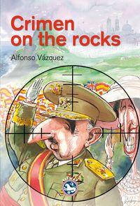 CRIMEN ON  THE ROCKS: portada