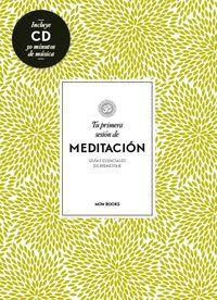 TU PRIMERA SESIÓN DE MEDITACIÓN: portada