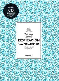 TU PRIMERA SESIÓN DE RESPIRACIÓN CONSCIENTE: portada