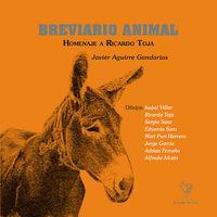 BREVIARIO ANIMAL: portada