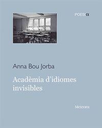 Acadèmia d'idiomes invisibles: portada
