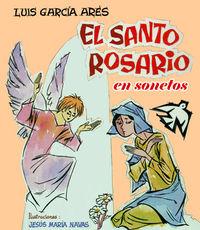El Santo Rosario en sonetos: portada