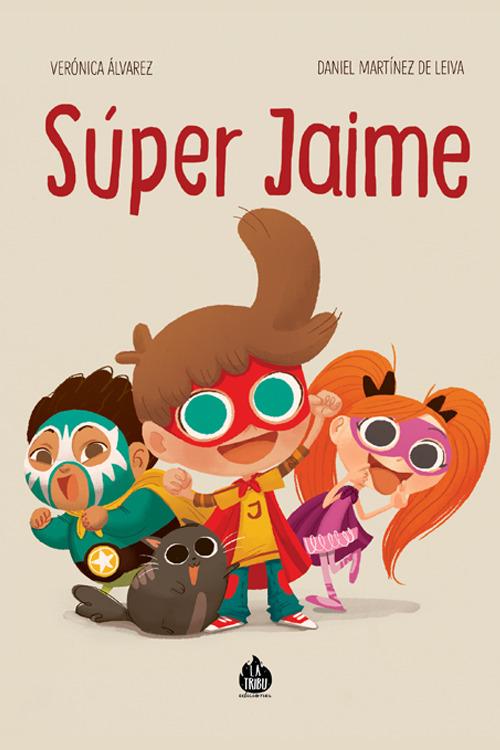 ¡Súper Jaime!: portada