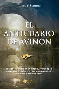 El anticuario de Avi��n: portada