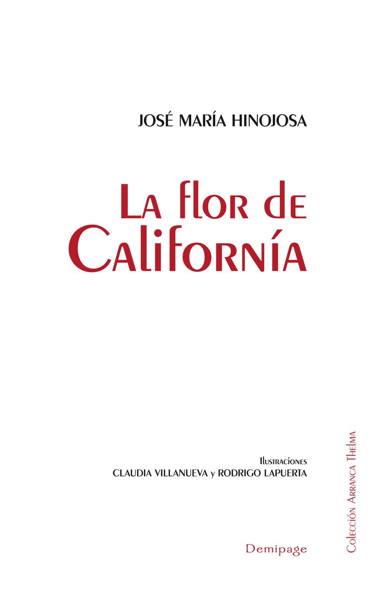 LA FLOR DE CALIFORNíA: portada