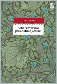 Artes subversivas para cultivar jardines: portada