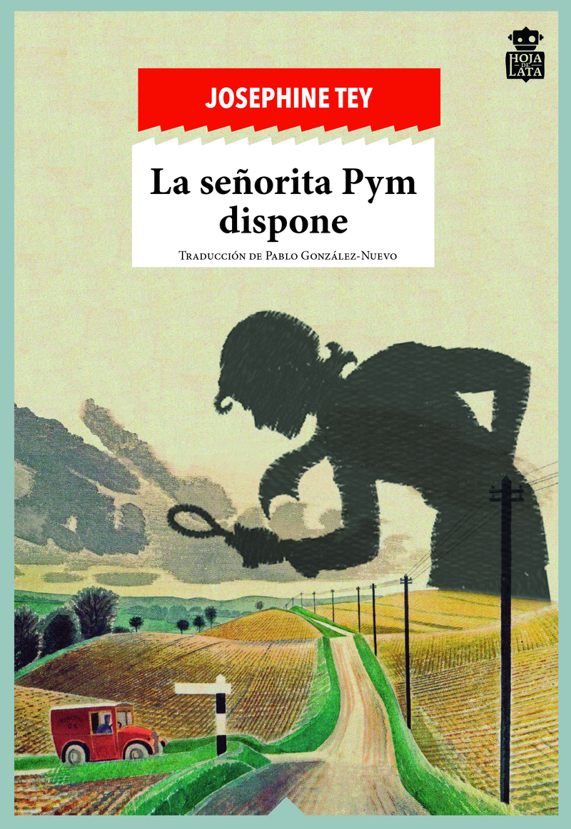 La señorita Pym dispone: portada