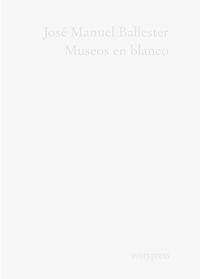 Museos en blanco: portada