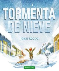 TORMENTA DE NIEVE: portada