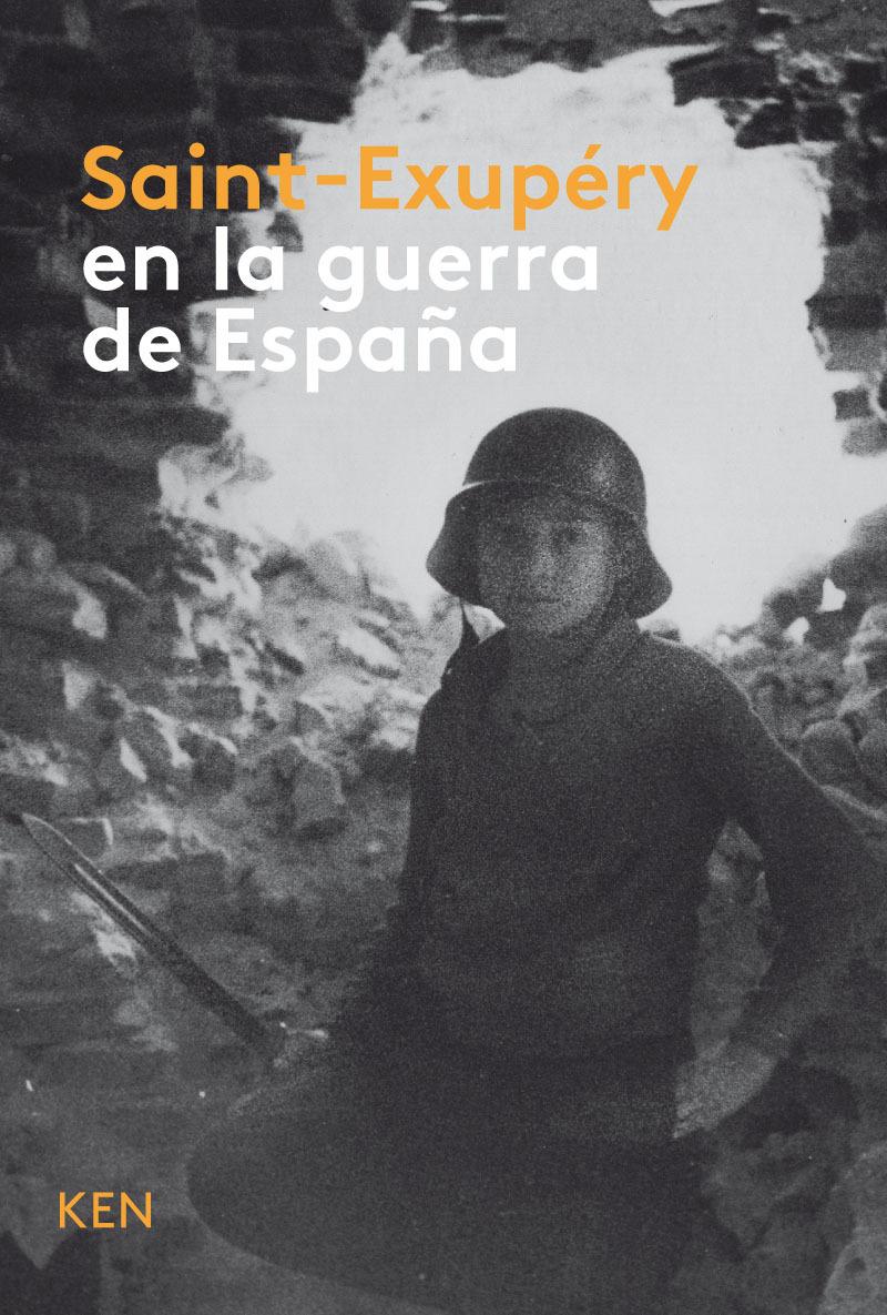 Saint-Exupéry en la guerra de España: portada