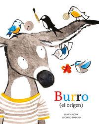 Burro (el origen): portada
