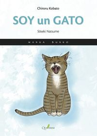SOY UN GATO-Manga: portada