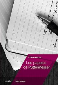 Los papeles de Puttermesser: portada
