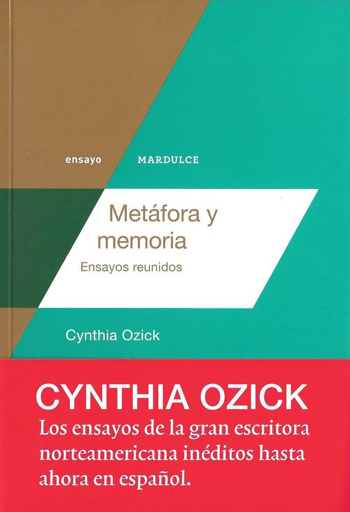 METÁFORA Y MEMORIA: portada