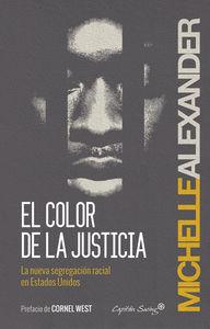 El color de la justicia: portada