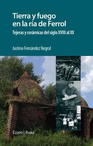 TIERRA Y FUEGO EN LA RIA DE FERROL: portada