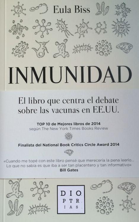 Inmunidad: portada